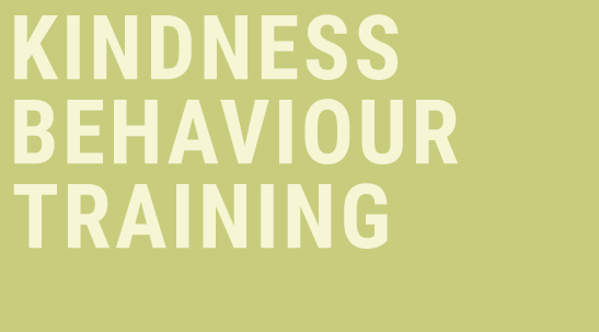 Kindness Behaviour Training